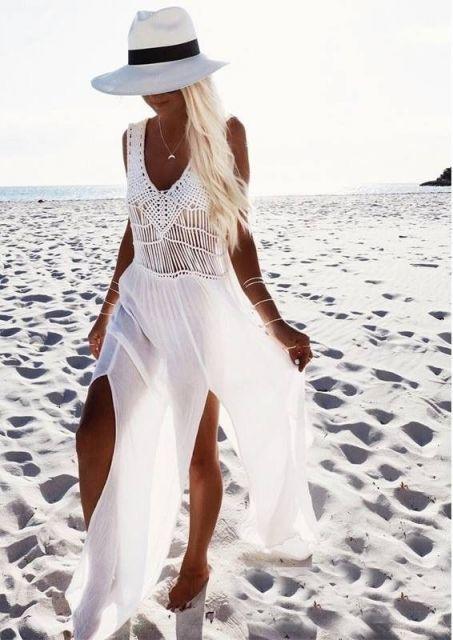 Saída de Praia Longa: 60 modelos lindos que vão te conquistar!