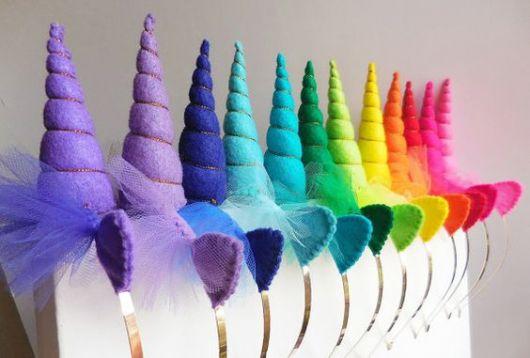Tiara de Unicórnio: 28 Modelos Lindos e Tutorial Passo a Passo! #DIY