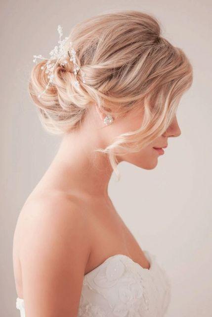 coque despojado noiva