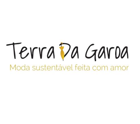 Logotipo da marca terra da garoa, nas cores preto com amarelo queimado.