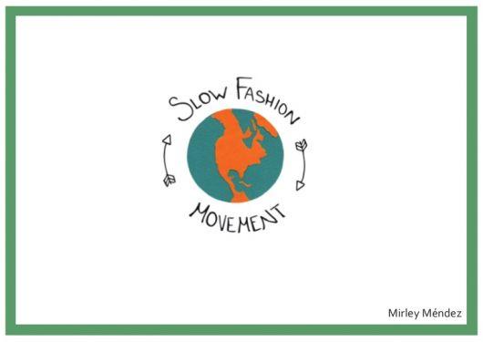 Logotipo com desenho do planeta terra na cor verde e laranja.