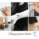 Tatuagem feminina delicada: 85 inspirações de desenhos e regiões para tatuar!