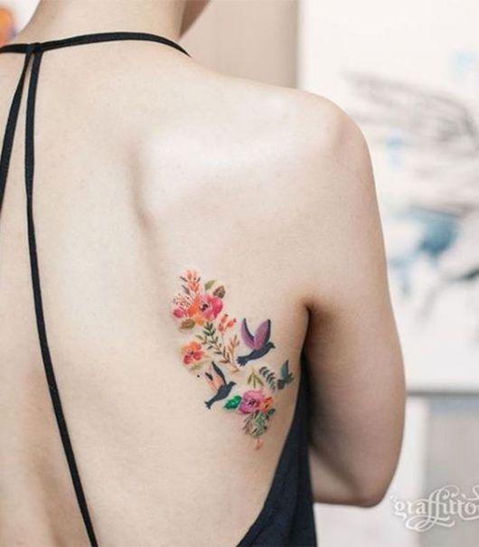 tatuagem retrô