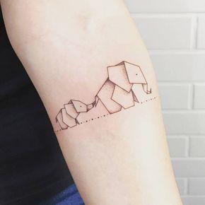 tatuagem elefante