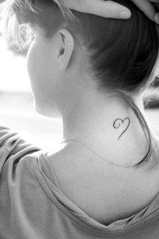 coração nuca