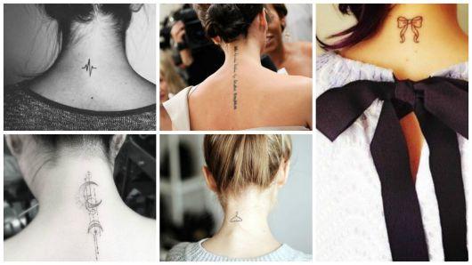 ideias tatuagem nuca