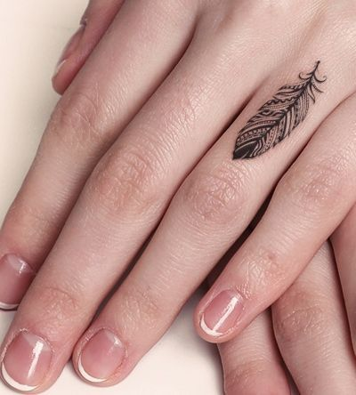 tatuagem pena