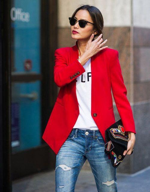 Blazer Feminino  90 opções de looks incríveis 1baaa01e669f7