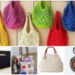 Bolsa de Crochê: 80 Modelos Lindos + Gráficos e Receitas!