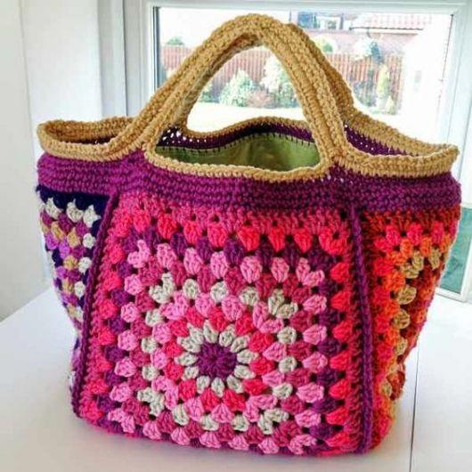 Bolsa De Croche Para Casamento : Bolsa de croch? modelos lindos gr?ficos e receitas
