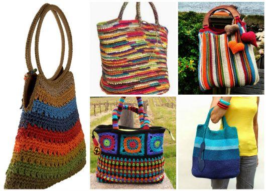 modelos de bolsas coloridas