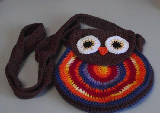 bolsa redonda coruja