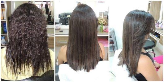 antes e depois cabelo crespo
