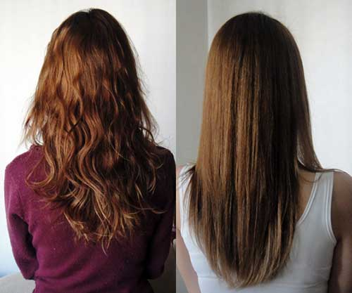 cabelo com ondas