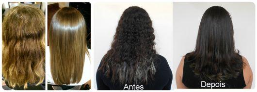 fotos cabelos alisados