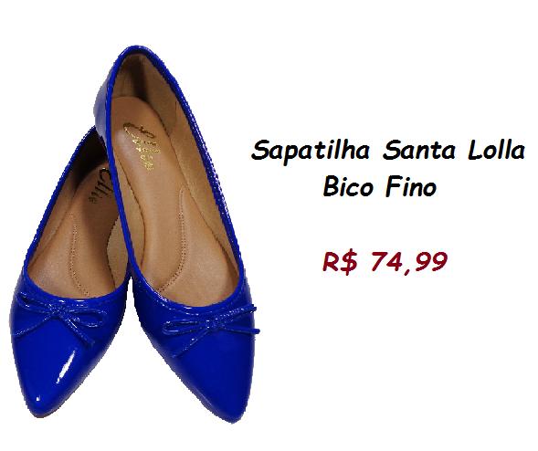 Modelo de sapatilha azul marinho com tope pelo preço de 74,99 na loja kanui.