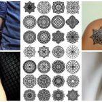 74 Ideias de Tatuagem Mandala Incríveis & Significados