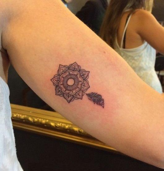 tatuagem pequena braço