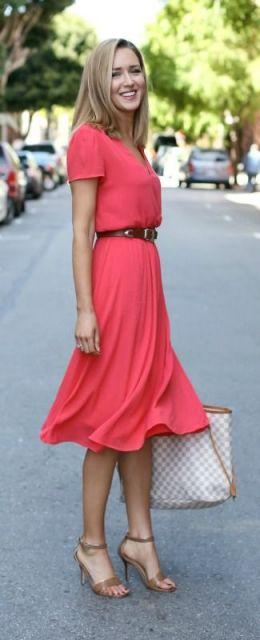 vestido colorido dia