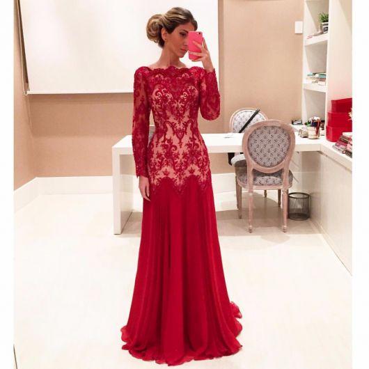 1532e13d7a Vestidos Evangélicos  76 inspirações lindas e dicas de modelos baratos!