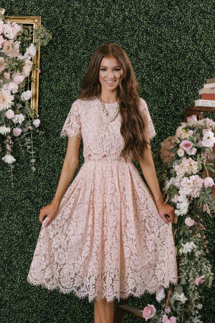 077295332 Vestidos Evangélicos: 76 inspirações lindas e dicas de modelos baratos!