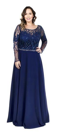 vestido plus size bordado