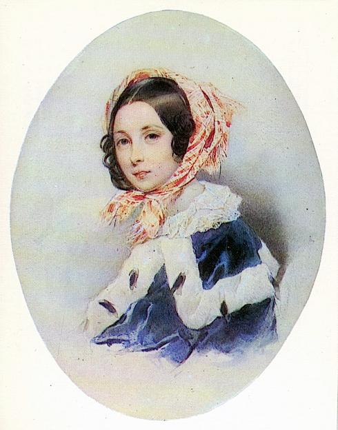 foto da princesa Elena Da Rússica com lenço na cabeça.