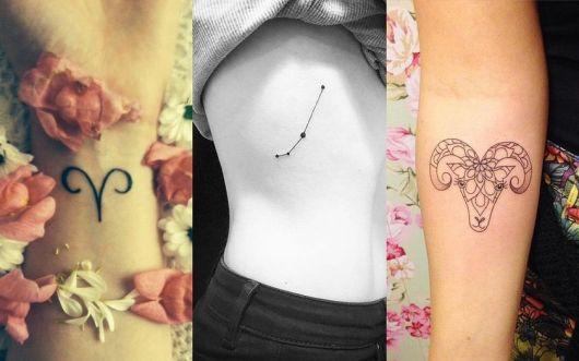 tatuagens de signo de áries