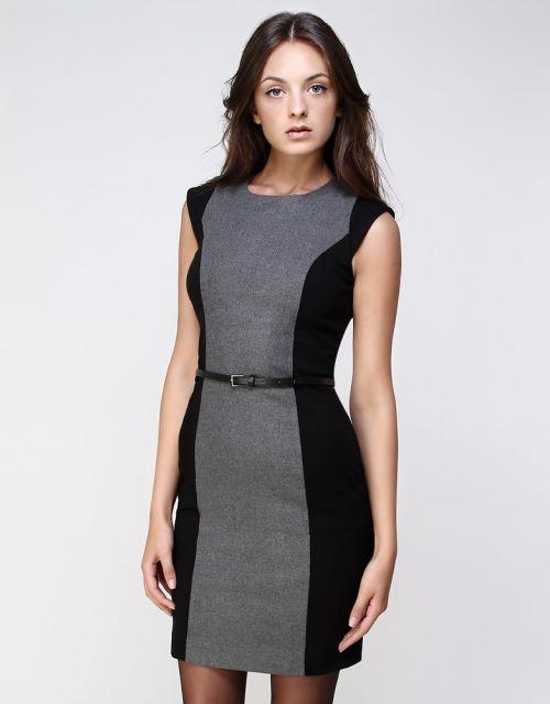 Modelo de vestido social para trabalho