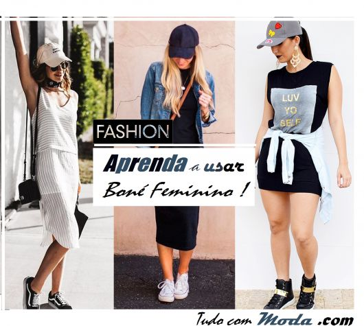 Como Usar Boné Feminino – 62 Looks, Dicas & Modelos Tendência!