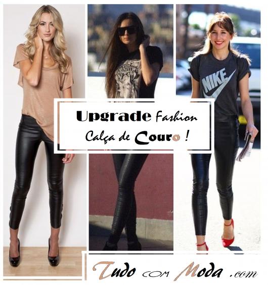 78 Looks Incríveis com Calça de Couro: Use & Abuse dessa Tendência!