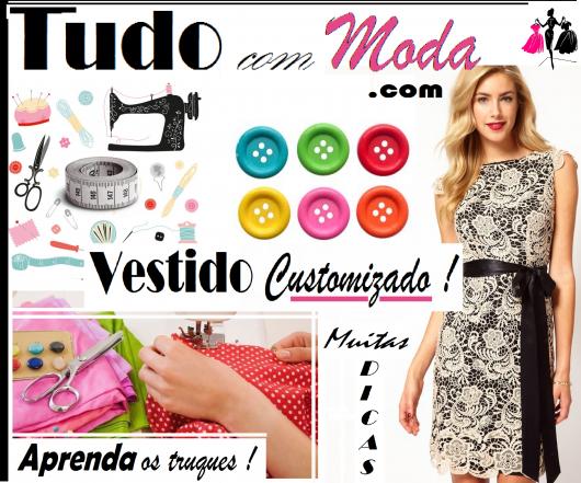 Como Customizar Vestidos – 43 Ideias Incríveis & Tutoriais Simples!