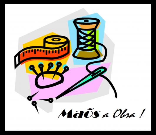 Montagem com gravuras ilustrativas de objetos para customizar.