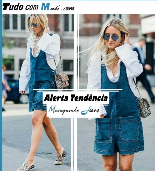 Macaquinho Jeans – Tá na Moda? Como Usar? Saiba Tudo Sobre a Peça!