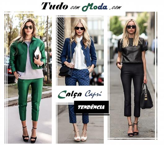 Calça Capri Feminina – Como Usar & 46 Looks PERFEITOS!