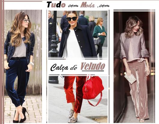 Como Usar Calça de Veludo – 44 Modelos Incríveis & Dicas de Looks!