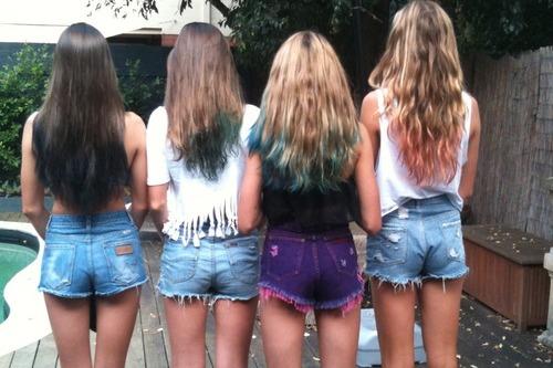 cabelo pintado crepom