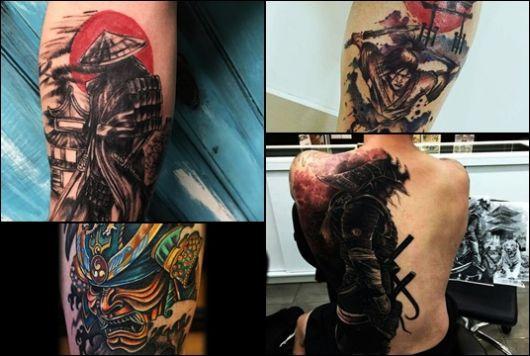 Tatuagem de Samurai: Significado & 30 Inspirações Incríveis!