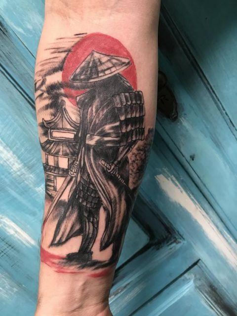 Tatuagem de samurai significado 30 inspira es incr veis for Japanese war tattoos
