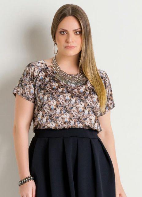 2eea80090 Blusa de Seda – 45 Modelos e Looks Chiquérrimos & Dicas Infalíveis!