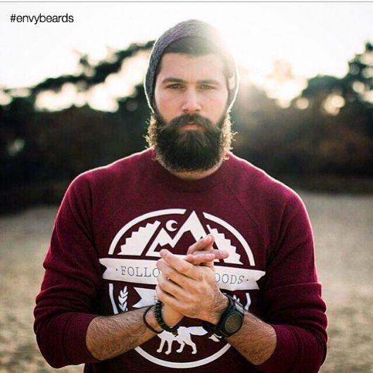 barba lenhador moderna