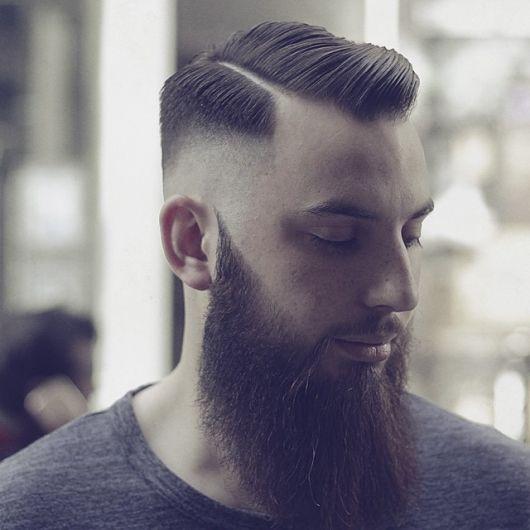 barba lenhador cabelo curto 1