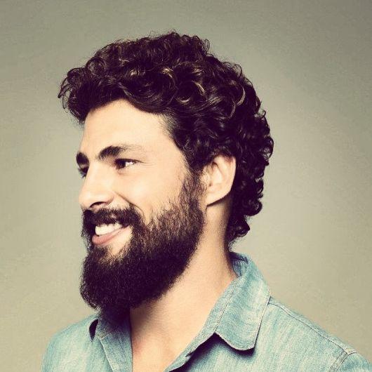 barba lenhador cabelo curto