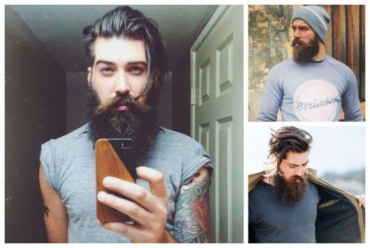 Barba lenhador ideias