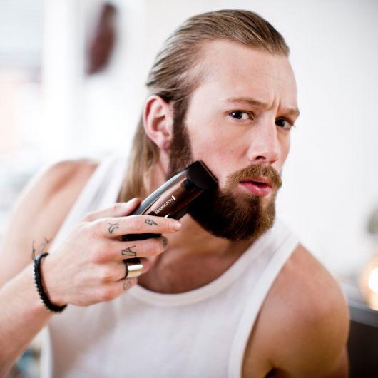 barba lenhador como cuidar
