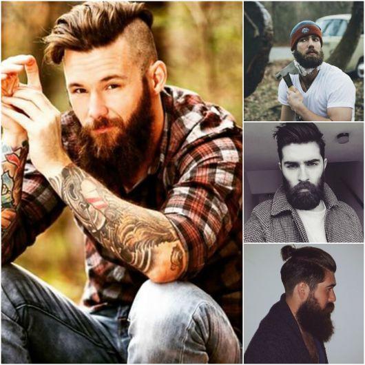 Barba lenhador