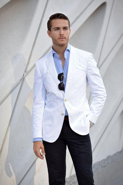 1c0baf7054 O branco fica perfeito com o azul! Vale a pena investir nessa ideia!