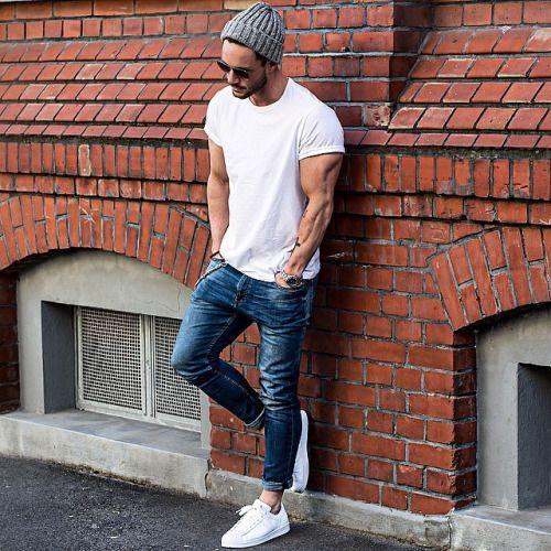 calça cropped masculina jeans como usar