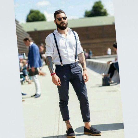 calça cropped masculina social como usar