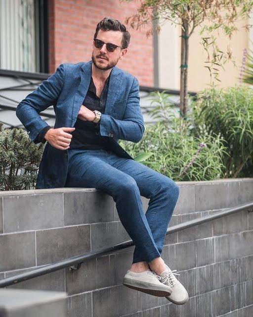calça cropped masculina social terno